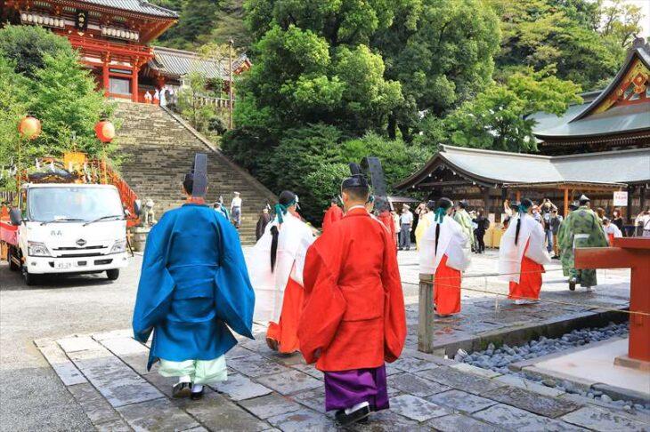 鶴岡八幡宮 例大祭
