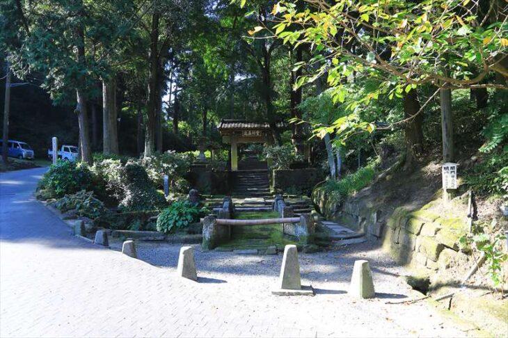 浄智寺の入口