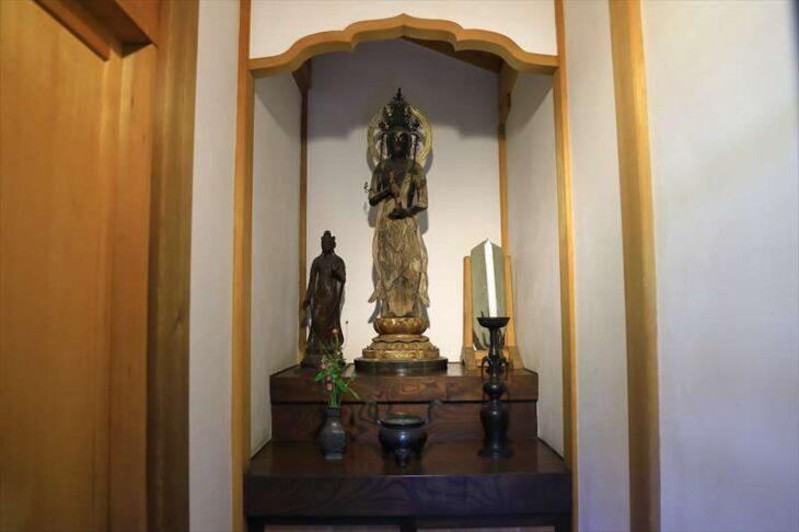 浄智寺 木造 聖観音菩薩立像