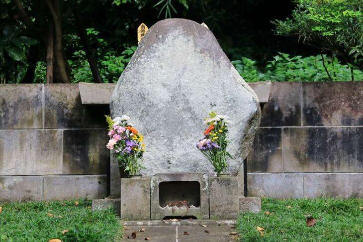 源媄子の墓