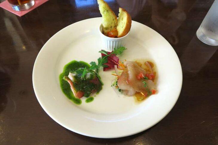 Restaurant Donの食事(前菜)