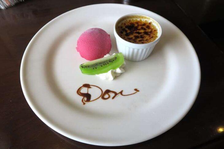 Restaurant Donの食事 デザート