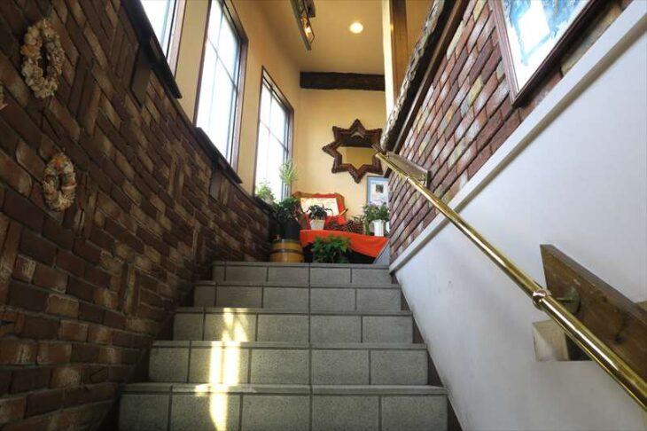 Restaurant Donの階段