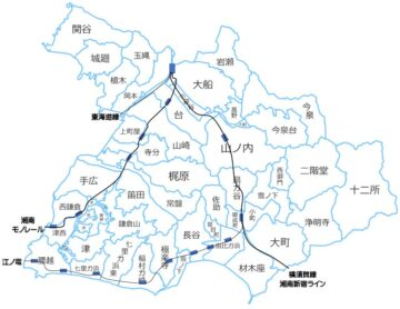 鎌倉市の町別地図